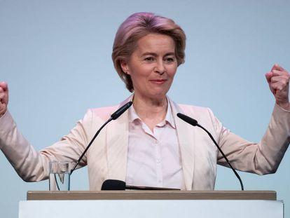 La presidenta de la Comisión Europea, Ursula von der Leyen, el 13 de noviembre.