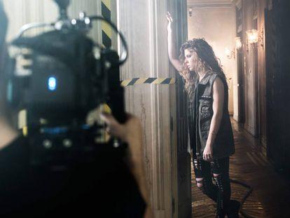 Videoclip de 'Hay algo en mí' con Miriam Rodríguez.