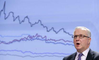 Olli Rehn, Comisario europeo de Asuntos Económicos