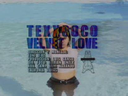 Videoclip de la canción 'Velvet Love', de Texxcoco.