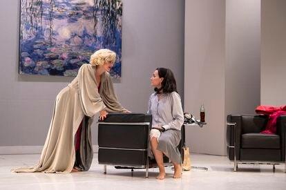 Casanovas y Conejero en 'Lamarr-Monroe'.