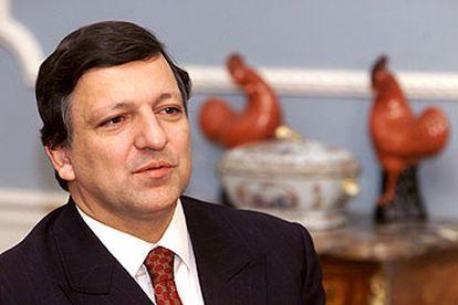 El primer ministro de Portugal, José Manuel Durão Barroso, en una foto de archivo.
