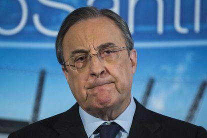 Florentino Pérez, este jueves.