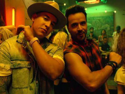Daddy Yankee y Luis Fonsi, en el vídeo de 'Despacito'.