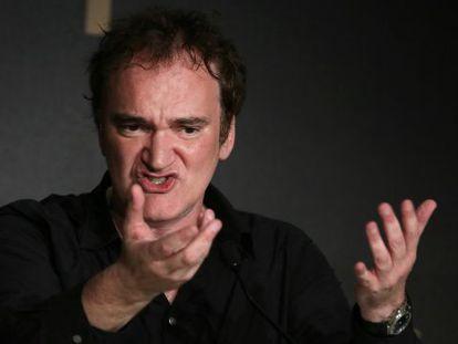 Quentin Tarantino, en el Festival de Cannes.