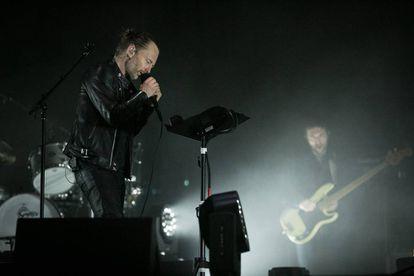 Thom Yorke, durante el concierto de Radiohead en el Primavera Sound.