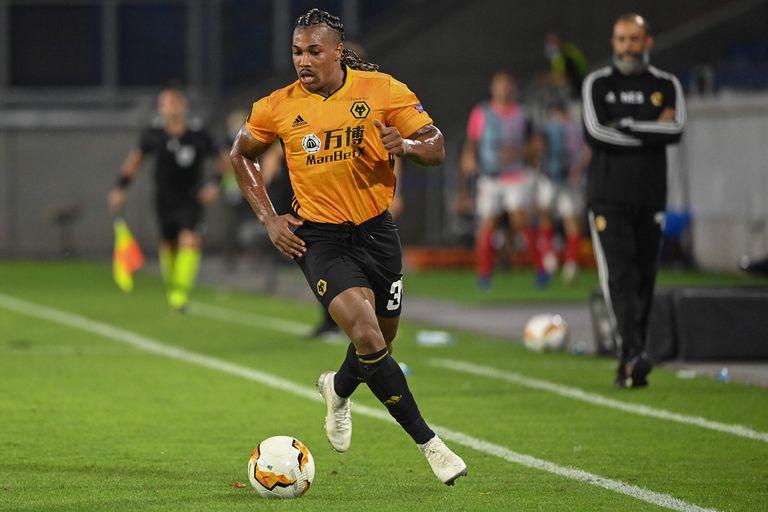 Adama Traoré, durante un partido de la Premier League con el Wolverhampton. / (AFP)