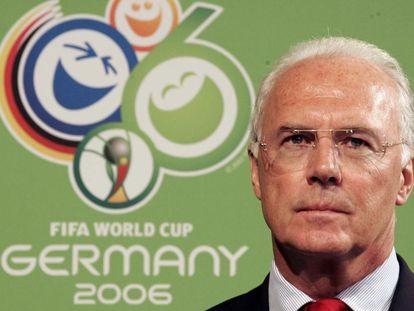 Franz Beckenbauer en marzo de 2006.