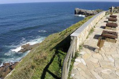Acantilado de Gijón donde Carla Díaz se suicidó en 2013 tras sufrir acoso escolar.