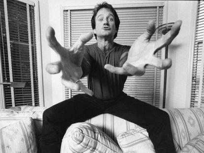 Robin Williams, a finales de los setenta, en una fotografía que aparece en el documental 'En la mente de Robin Williams'. En el vídeo, el tráiler.