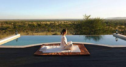El 'mindfulness' puede practicarse en cualquier lugar.