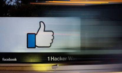Sede de Facebook, en Menlo Park, California.