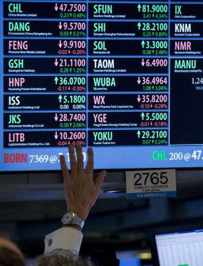 Los 10 mayores fondos tienen 36.000 millones en acciones del Ibex 35