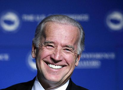 Joe Biden, en un acto del Partido Demócrata celebrado en Washington en enero de 2007.