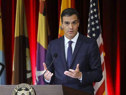 El presidente del Gobierno, Pedro Sánchez / VÍDEO: ATLAS