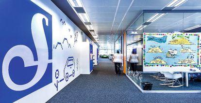 Sede de la empresa en Barcelona
