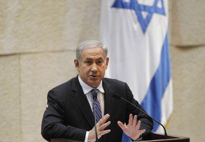Netanyahu explica hoy en la Knesset su política hacía Irán.