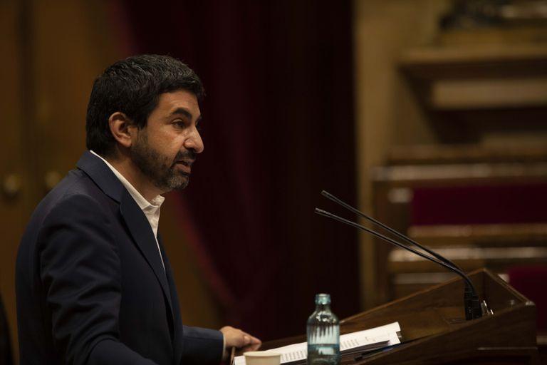 El consejero de Trabajo, Asuntos Sociales y Familia, Chakir El Homrani.