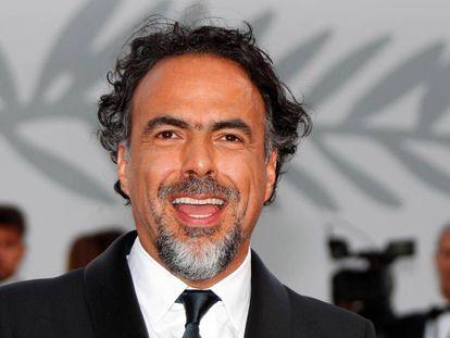 El director mexicano Alejandro González Iñárritu en la 70 edición del festival de Cannes.