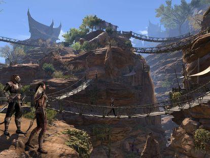 Imagen del videojuego 'The elder scrolls'.