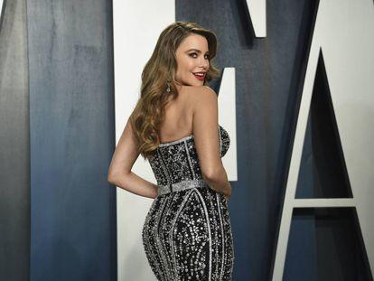 Sofia Vergara en la noche de los Oscar el pasado 9 de febrero.