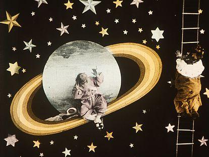 Fotograma de 'Le voyage sur Jupiter', de 1909.