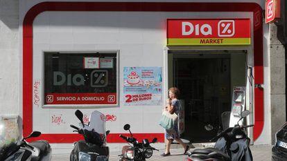 Un supermercado Dia en Hoyo de Manzanares (Madrid).