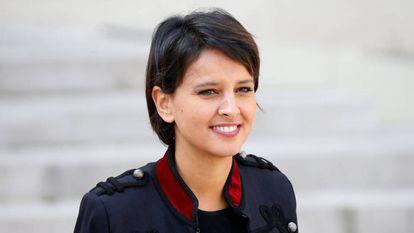 La ministra francesa de Educación, Najat Vallaud-Belkacem.
