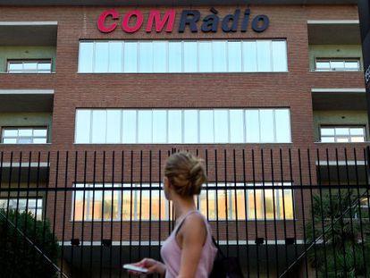 Edificio de COM Ràdio en Barcelona.