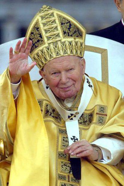 El papa Juan Pablo II el 25 de diciembre de 2002.