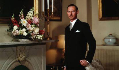Retrato del Gran Duque Juan de Luxemburgo tomada en 1963, poco antes de acceder a la jefatura del Estado.