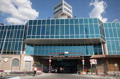 El edificio de oficinas de la calle Mirasierra de San Sebastián de los Reyes en el que fue hallado el cadáver de Márquez.