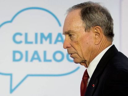 El empresario neoyorquino Michael Bloomberg