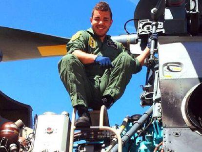 Jhonander Ojeda Alemán, sargento de Ejército del Aire, en una foto que publicó en Facebook.