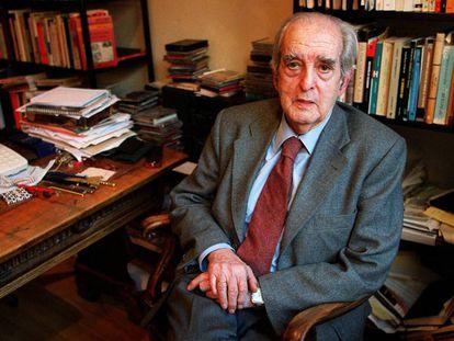Fernando Morán, en una imagen de archivo de 2003. En vídeo, la trayectoria política de Fernando Morán.