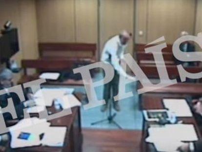 El arquitecto municipal explicó al juez cada paso a dar para sacar los restos del dictador de la tumba