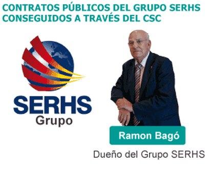 Contratos públicos de Bagó.