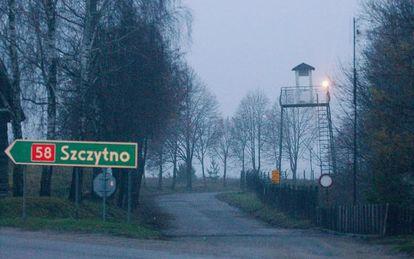 Cercanías de la ciudad polaca de Stare Kiejkuty, donde organizaciones de derechos humanos apuntan que se ubicó una cárcel secreta de la CIA