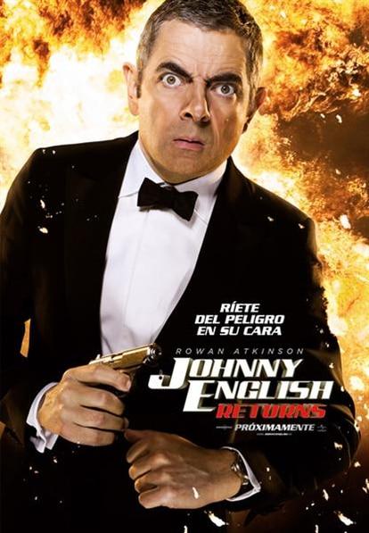 Cartel de Johnny English returns