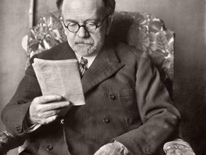 El escritor Pío Baroja.