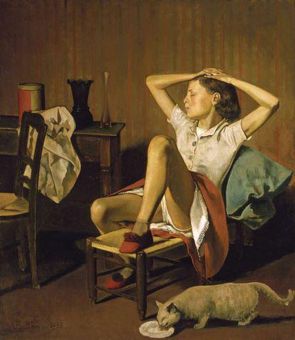 'Teresa soñando' (1938), de Balthus.