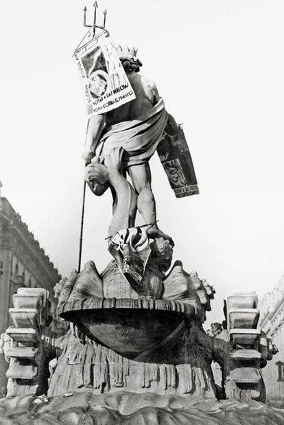 Propaganda en Neptuno en 1933, de autor desconocido.