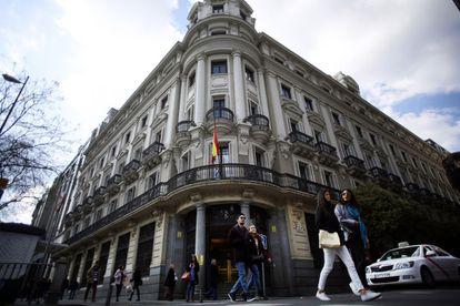 Sede de la Comisión Nacional de los Mercados y la Competencia en Madrid