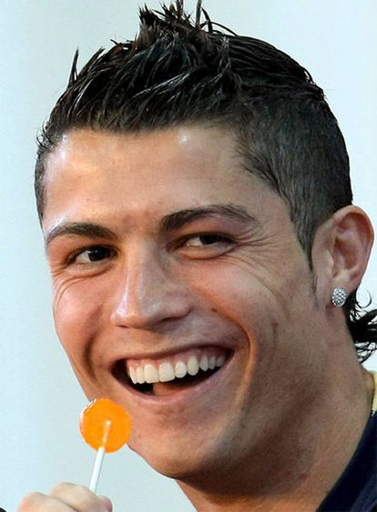 Cristiano Ronaldo durante una rueda de prensa.