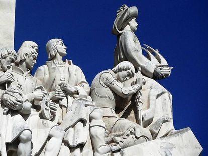 Padrão dos Descobrimentos, monumento en Lisboa. En el extremo derecho, Enrique el Navegante.