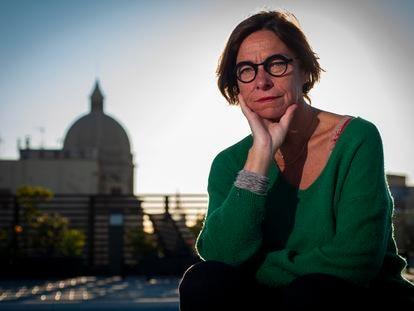 La filosofa belga Vinciane Despret el 13 de octubre en Barcelona.