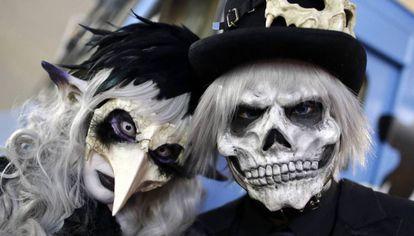 Desfile de Halloween en Kawasaki, al sur de Tokio.
