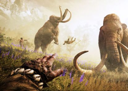 Fotograma del videojuego 'Far Cry Primal'.