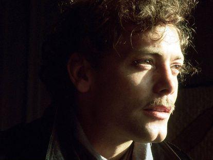 Retrato de Patrick Dewaere en su casa de Paris en 1977. El actor se suicidaría cinco años después.