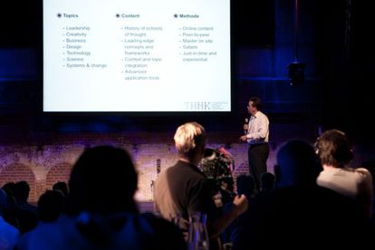 The Amsterdam School of Creative Leadership (THNK) ofrece formación para potenciar la imaginación del directivo.
